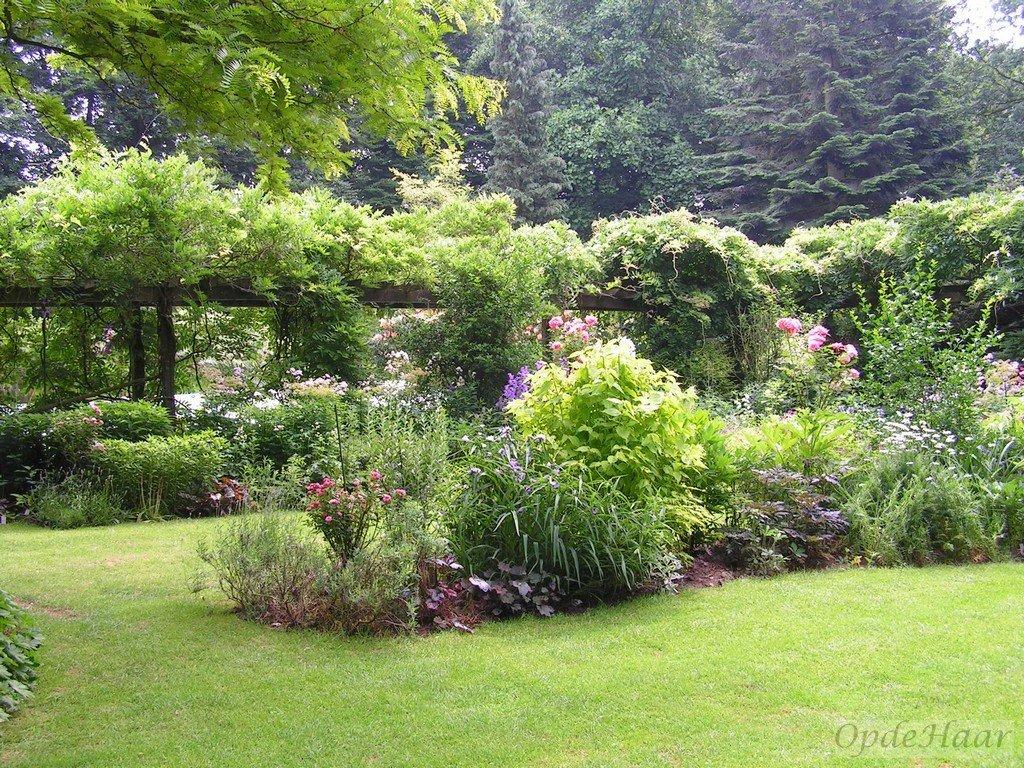 New De zonnige Engelse borders, vol vaste planten, met passie voor kleur @DA35
