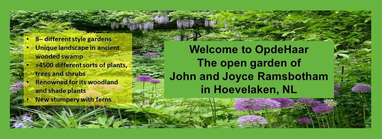 Welcome to OpdeHaar open garden in Hoevelaken, The Netherlands